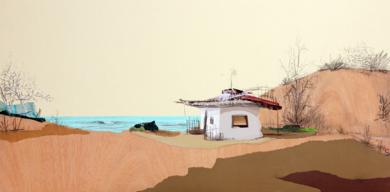 Duna de levante|CollagedeEduardo Query| Compra arte en Flecha.es