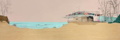 La cabaña|CollagedeEduardo Query| Compra arte en Flecha.es