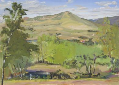 Riofrío|PinturadeIgnacio Mateos| Compra arte en Flecha.es