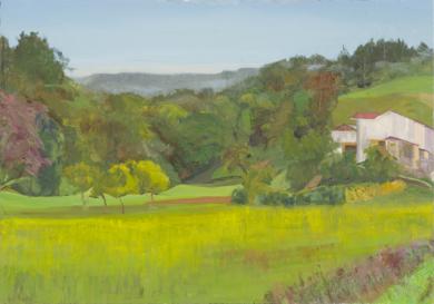 Urteta, Caserío|PinturadeIgnacio Mateos| Compra arte en Flecha.es