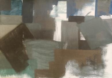 VOLÚMENES SUMERGIDOS|PinturadeVerónica Bustamante Loring| Compra arte en Flecha.es