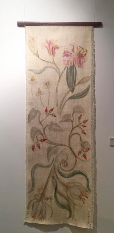 TAPIZ BOTÁNICA II|PinturadeVerónica B. Loring| Compra arte en Flecha.es