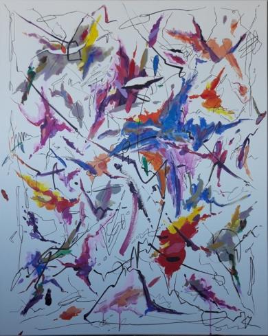 Chopin - spring waltz (mariage d'amour)|PinturadeValeriano Cortázar| Compra arte en Flecha.es