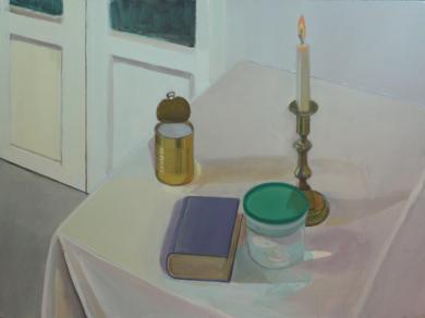 Los restos del  día|PinturadeIgnacio Mateos| Compra arte en Flecha.es
