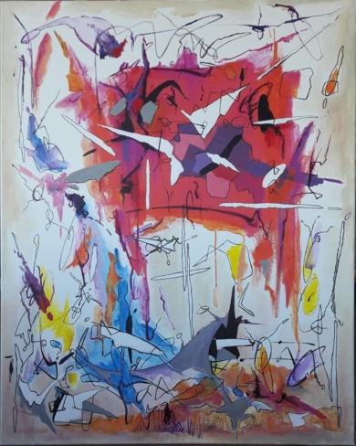 Woke up dreaming|PinturadeValeriano Cortázar| Compra arte en Flecha.es
