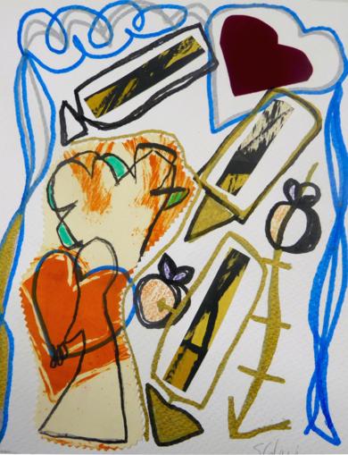 caminante2|DibujodeSílvia Colomina| Compra arte en Flecha.es