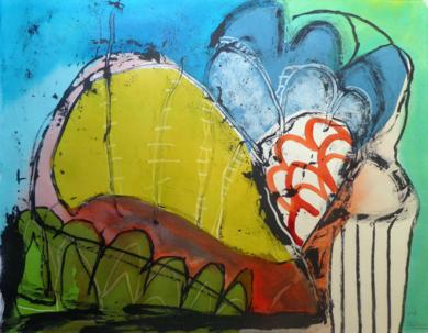 pájaro mojado|DibujodeSílvia Colomina| Compra arte en Flecha.es