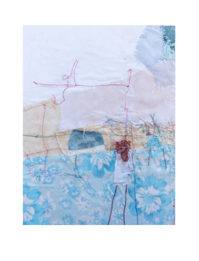 """RECIÉN LEVANTADA""|CollagedeJulia Fragua| Compra arte en Flecha.es"