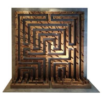 Cálculo y azar|Esculturadealberto carvajal| Compra arte en Flecha.es