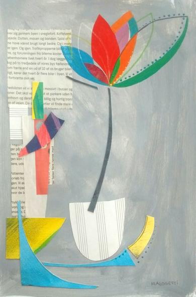 S/T de la Serie Natura Inspira|CollagedeANALIA MALOSETTI| Compra arte en Flecha.es