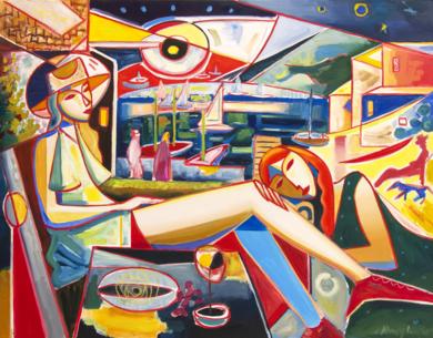 Late afternoon PinturadeMaciej Cieśla  Compra arte en Flecha.es