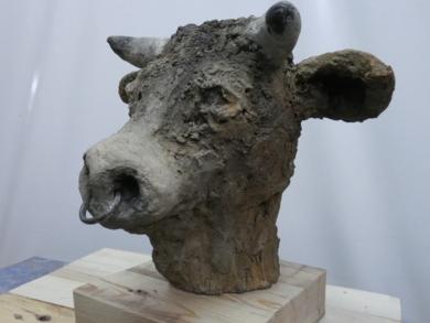minotauro  nº  10|Esculturadesaiz manrique| Compra arte en Flecha.es