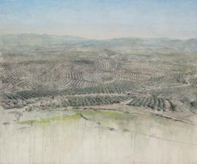 Cerros de Úbeda|PinturadeJosé Luis Romero| Compra arte en Flecha.es