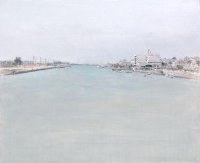 El Guadalete por El Puerto|PinturadeJosé Luis Romero| Compra arte en Flecha.es