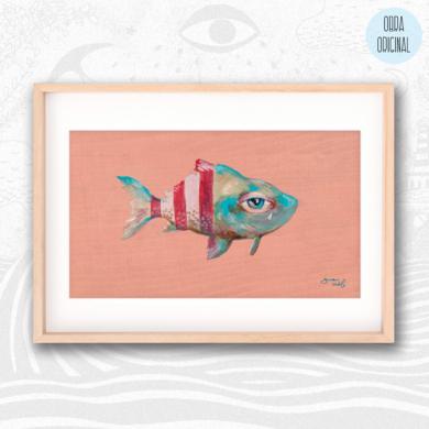 Poisson d'avril II|IlustracióndeBran Sólo| Compra arte en Flecha.es