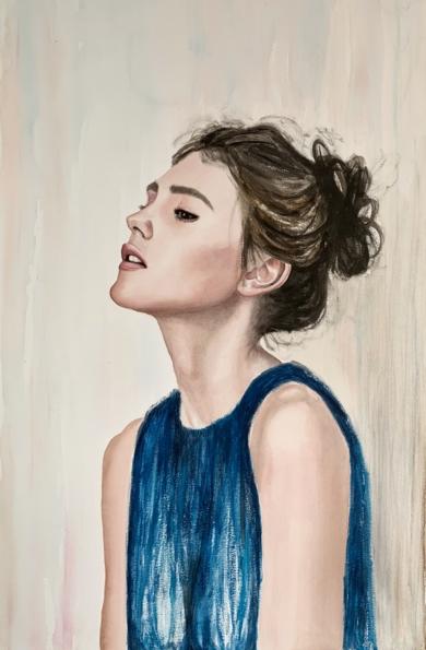 La espera|PinturadeEVA GONZALEZ MORAN| Compra arte en Flecha.es