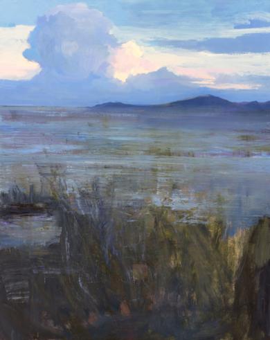 Cielo y paja|PinturadeCarmen Montero| Compra arte en Flecha.es