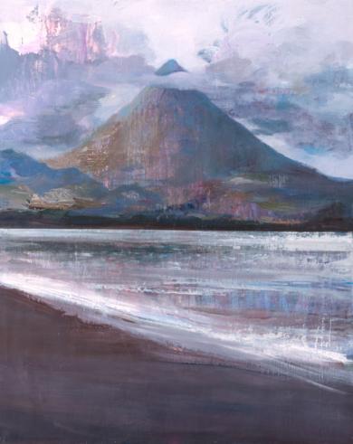 Volcan|PinturadeCarmen Montero| Compra arte en Flecha.es