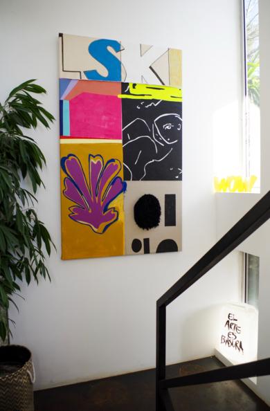 208 This is Fine|PinturadeNadia Jaber| Compra arte en Flecha.es