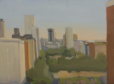 Primer Estudio de luz para Azca|PinturadeIgnacio Mateos| Compra arte en Flecha.es