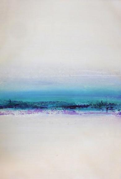 Blue horizon|PinturadeEsther Porta| Compra arte en Flecha.es