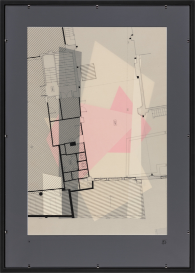 Fragmento de un espacio propio 18|CollagedePablo Pérez Palacio| Compra arte en Flecha.es