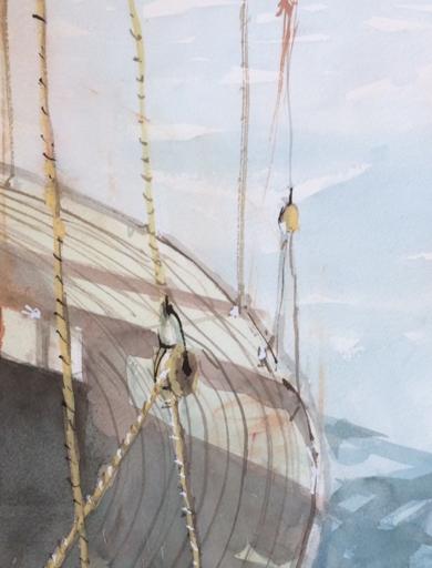 En cubierta|PinturadeIñigo Lizarraga| Compra arte en Flecha.es