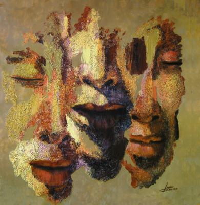 Serie diaspora, Caminantes|PinturadeJuan Chamizo| Compra arte en Flecha.es