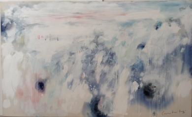 Paisaje Celeste II|PinturadeEdurne Gorrotxategi| Compra arte en Flecha.es