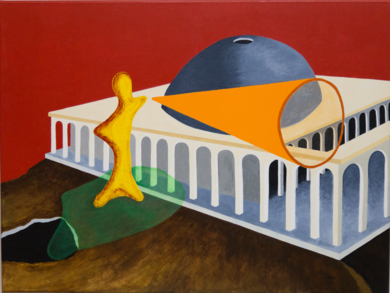 Acrópolis|PinturadeANDRES ACEVEDO MANSO| Compra arte en Flecha.es