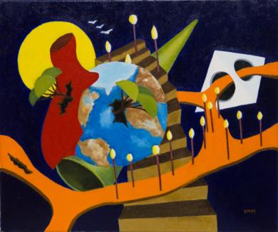 Encrucijada|PinturadeANDRES ACEVEDO MANSO| Compra arte en Flecha.es