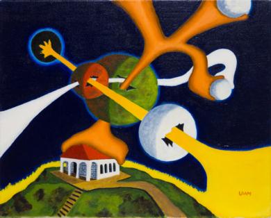 Caos|PinturadeANDRES ACEVEDO MANSO| Compra arte en Flecha.es