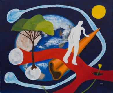 Soledad|PinturadeANDRES ACEVEDO MANSO| Compra arte en Flecha.es