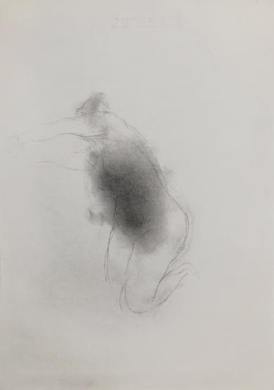 La muerte y la doncella mov 2|DibujodeMaría Argüelles| Compra arte en Flecha.es