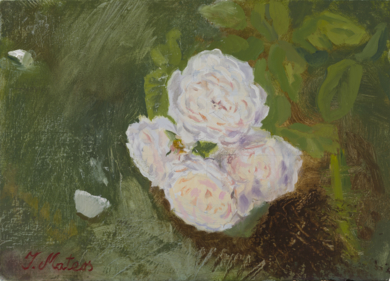 Rosas 21|PinturadeIgnacio Mateos| Compra arte en Flecha.es