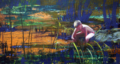 Rio|PinturadeCarmen Montero| Compra arte en Flecha.es