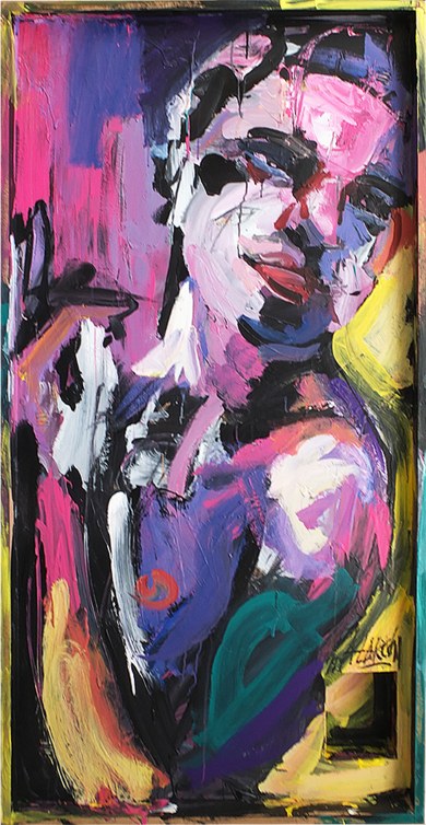 Andros (Allegro ma non troppo)|PinturadeFRANCISCO ALARCÓN| Compra arte en Flecha.es