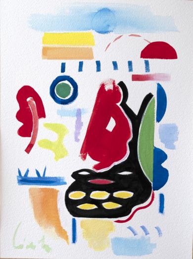 abstracción 08 2019 color y forma|PinturadeMaciej Cieśla| Compra arte en Flecha.es