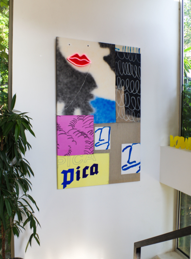 103 Early Hints PinturadeNadia Jaber  Compra arte en Flecha.es