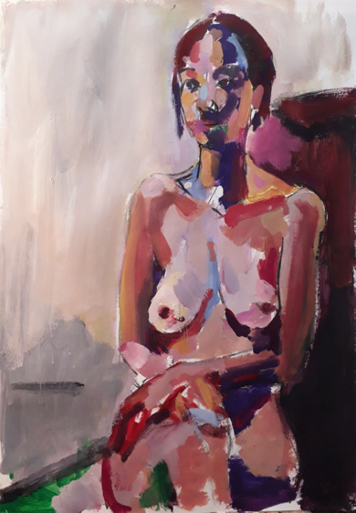 Sophie V|PinturadeFRANCISCO ALARCÓN| Compra arte en Flecha.es