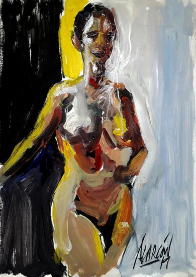 Su I|PinturadeFRANCISCO ALARCÓN| Compra arte en Flecha.es