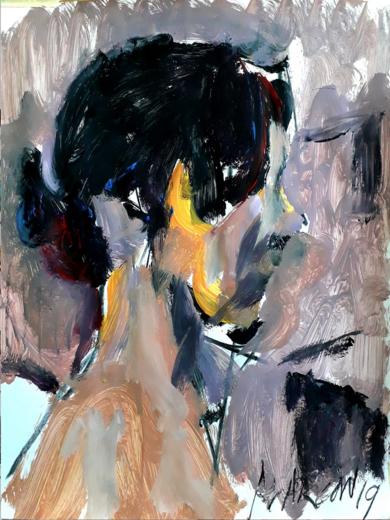 Sophie I|PinturadeFRANCISCO ALARCÓN| Compra arte en Flecha.es