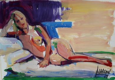 Piano solo|PinturadeFRANCISCO ALARCÓN| Compra arte en Flecha.es