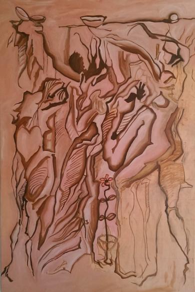 Der Trinkerspruch|PinturadeGabriel José Vale| Compra arte en Flecha.es