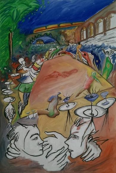 Keine Tanzerinnen|PinturadeGabriel José Vale| Compra arte en Flecha.es