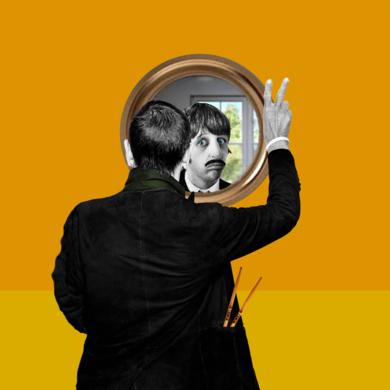 Ringo Star|CollagedeGabriel Aranguren| Compra arte en Flecha.es