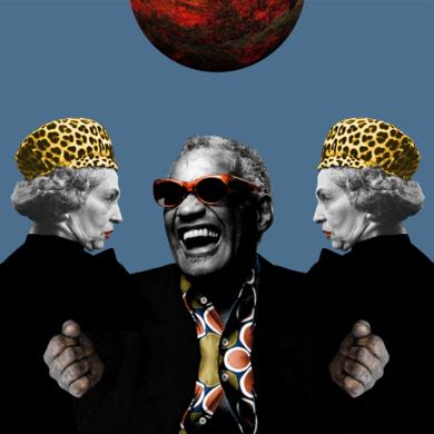 RAY CHARLES|CollagedeGabriel Aranguren| Compra arte en Flecha.es