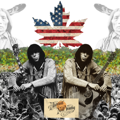 Neil Young|CollagedeGabriel Aranguren| Compra arte en Flecha.es