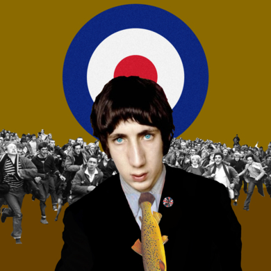 Pete Townshend|CollagedeGabriel Aranguren| Compra arte en Flecha.es