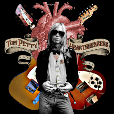 Tom Petty|CollagedeGabriel Aranguren| Compra arte en Flecha.es